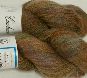 Ivy Brambles Cashmere 2-Ply Yarn - 110 Pine Tree