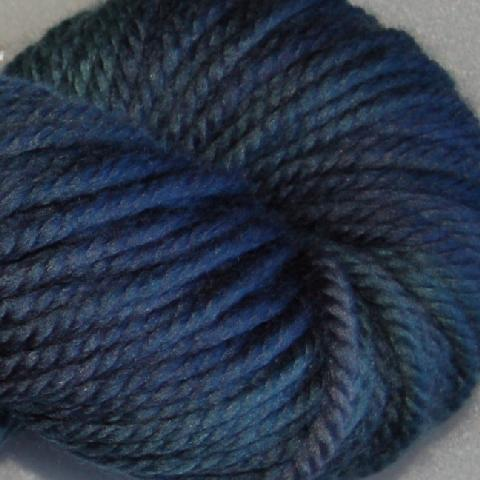 Ivy Brambles Superwash Chunky Yarn #127 Night Sky