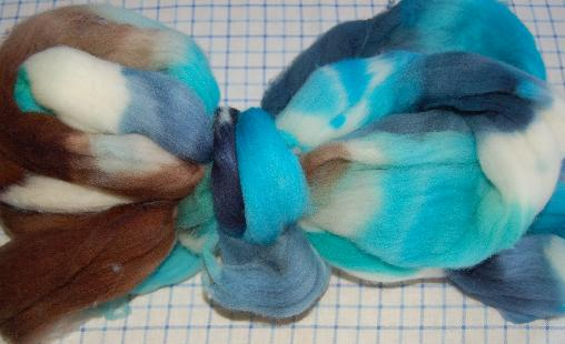 Ivy Brambles Merino 4oz Roving - Barrier Reef