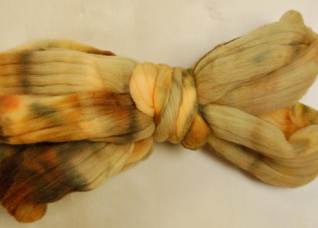 Ivy Brambles Merino 4oz Roving - Fall Leaves