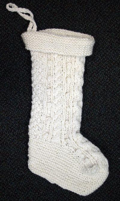 Irish Knit Holiday Stocking Kit