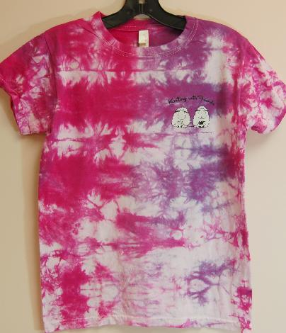 Knitting With Friends® - Tie-Dyed T Shirts