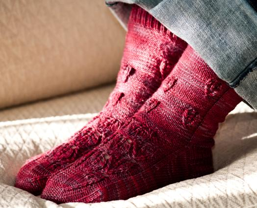 Autumn Flame Sock Kit