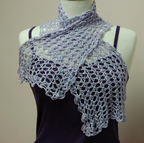 Crochet Patterns Light Weight Yarn : Spa Yarn Spring Scarf to Crochet - Free Crochet Pattern Suite101 ...
