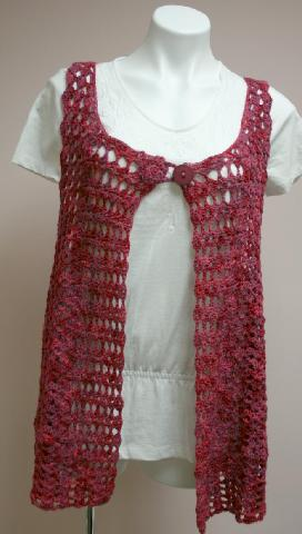 Crochet Swing Vest Kit