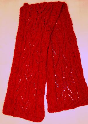 Hyacinth Cashmere Lace Scarf Kit