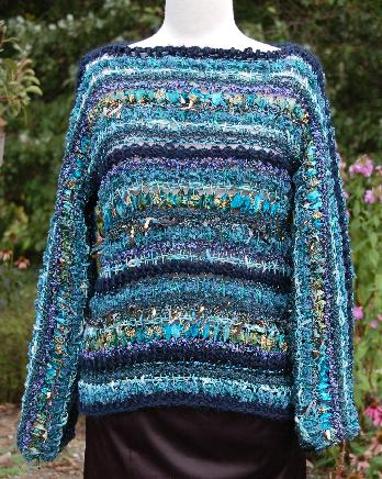 Ivy Brambles Jasmine Tunisian Sweater Pattern