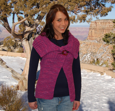Ivy Brambles Metro Vest Pattern