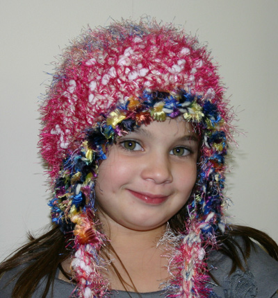 Ivy Brambles Crochet Snow Princess Hat Pattern