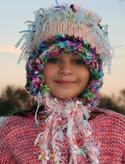 Ivy Brambles Snow Princess Hat Pattern