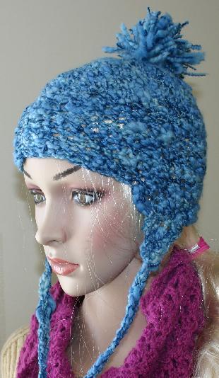 Ivy Brambles Tornado Crochet Pompom Hat Pattern