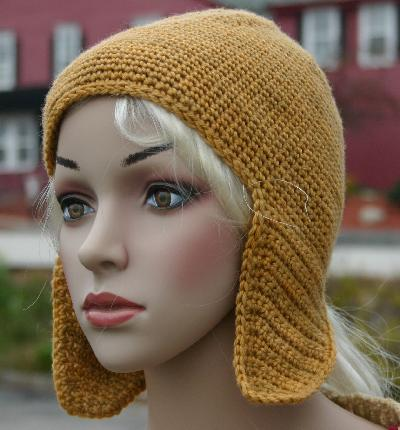 Head Huggers: Crochet Pattern: Easy Single Crochet Hat