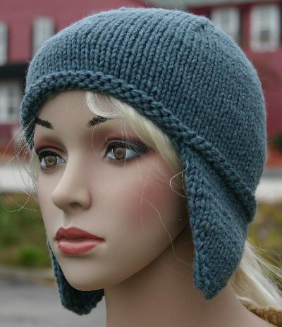 Earflap Hat Free Knit Pattern Free Patterns