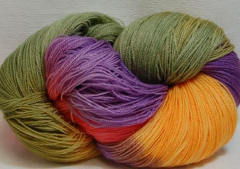 Ivy Brambles Romantica Merino Lace Yarn - 012 Wild Flowers