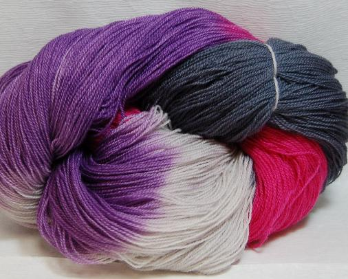 Ivy Brambles Romantica Merino Lace Yarn - 014 Dark Nebula