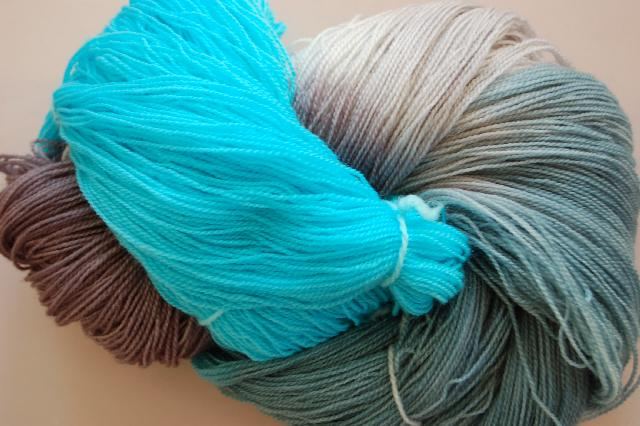 Ivy Brambles Romantica Merino Lace Yarn - 015 Deep Sea