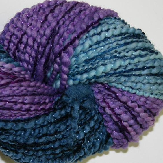 Ivy Brambles Tornado Thick and Thin Yarn #208 Blue Orchid