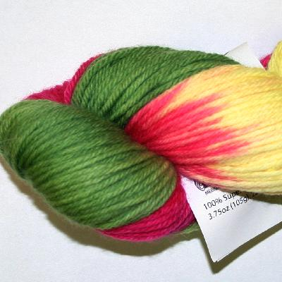 Ivy Brambles Superwash Worsted Yarn #203 Impatiens