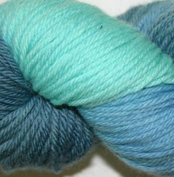 Ivy Brambles Superwash Worsted Yarn #204 Ocean