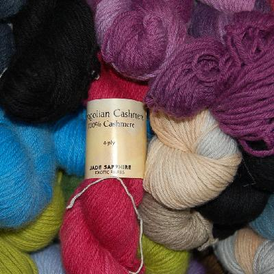 Jade Sapphire Mongolian Cashmere 2-Ply Yarn