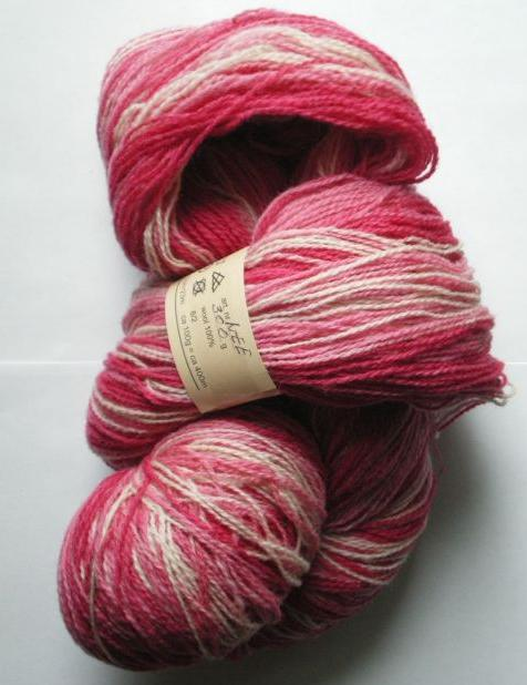 Kauni Yarn Effektgarn wool 100% 8/2 in Colorway EE 130 grams - 572 yards