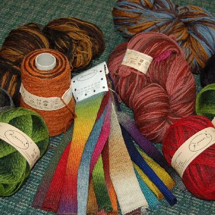 Kauni Yarn Effektgarn Wool 100% 8/2