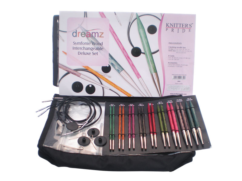 Knitters Pride Dreamz Symfonie Wood Interchangeable Deluxe Set Knitting Needles