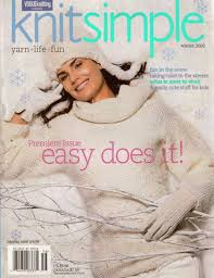 Knit Simple Winter 2005 Easy Does It