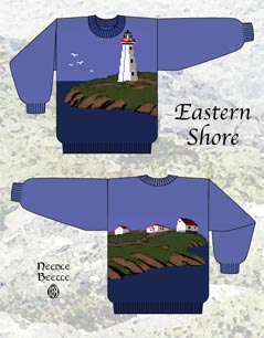 Needle Beetle Eastern Shore Sweater Pattern