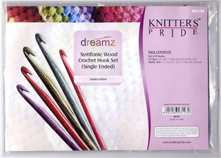 Knitters Pride Dreamz Crochet Hook Set - Single Ended