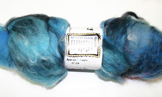 Bewitching Batts Hand Blended Art Batt - #004 - 2.6 ozs