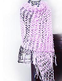 Fig and Plum: Jessica Simpson Shawl Revisited