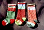 Cascade 220 Christmas Stockings Pattern