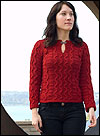Cascade Lana dOro Kendra Pullover Pattern