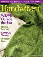Interweave Handwoven Magazine