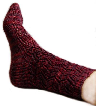 Ivy Brambles Ladder Lace Sock Kit