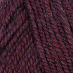 Plymouth Yarn Encore Worsted Yarn in Colorway 0355 Garnett Mix