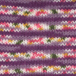 Plymouth Yarn Encore Colorspun Worsted Yarn in Colorway 7145 Purple Nurple