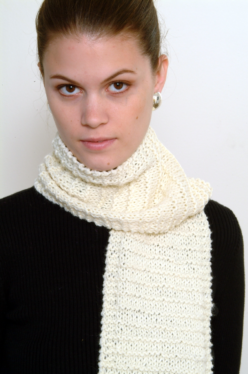 Encore Beginners Scarves Pattern #F116