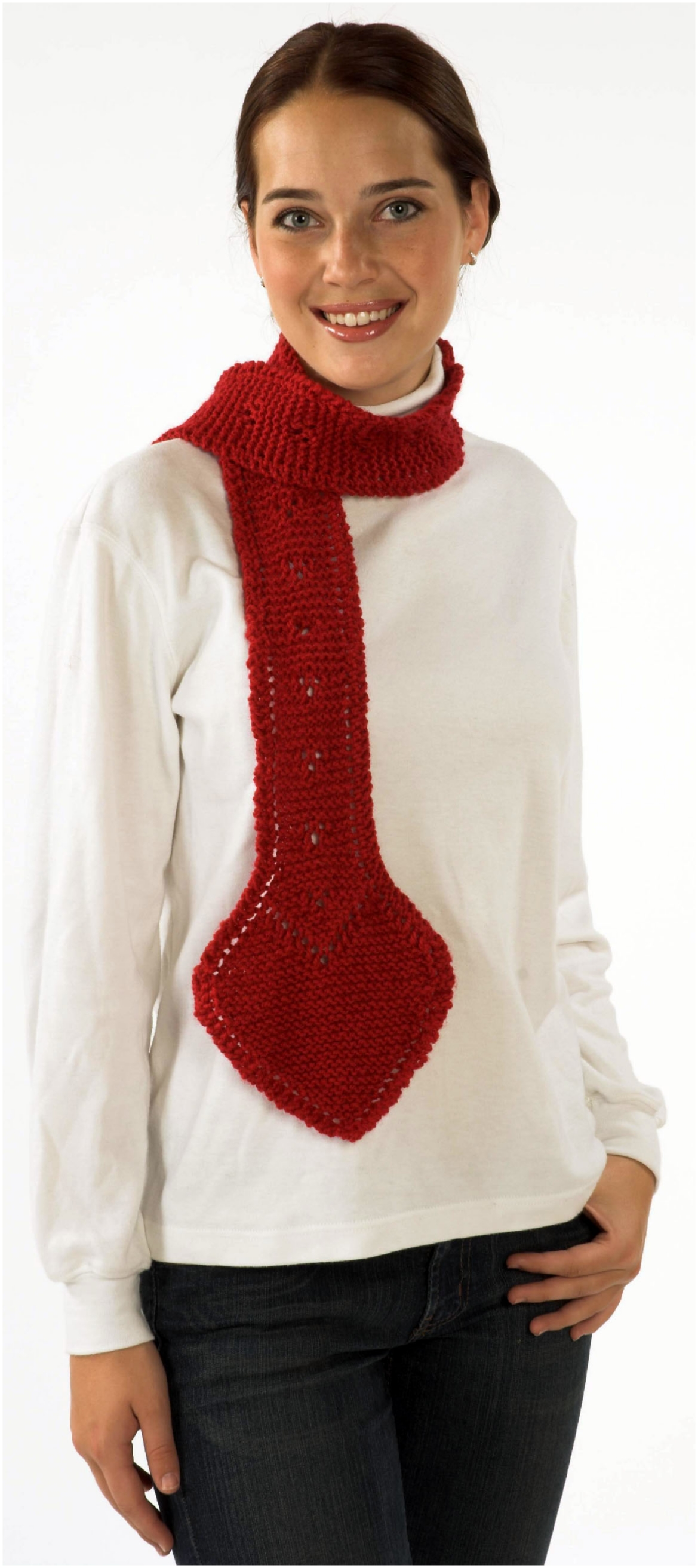 Encore Go Red Scarf Pattern #F139