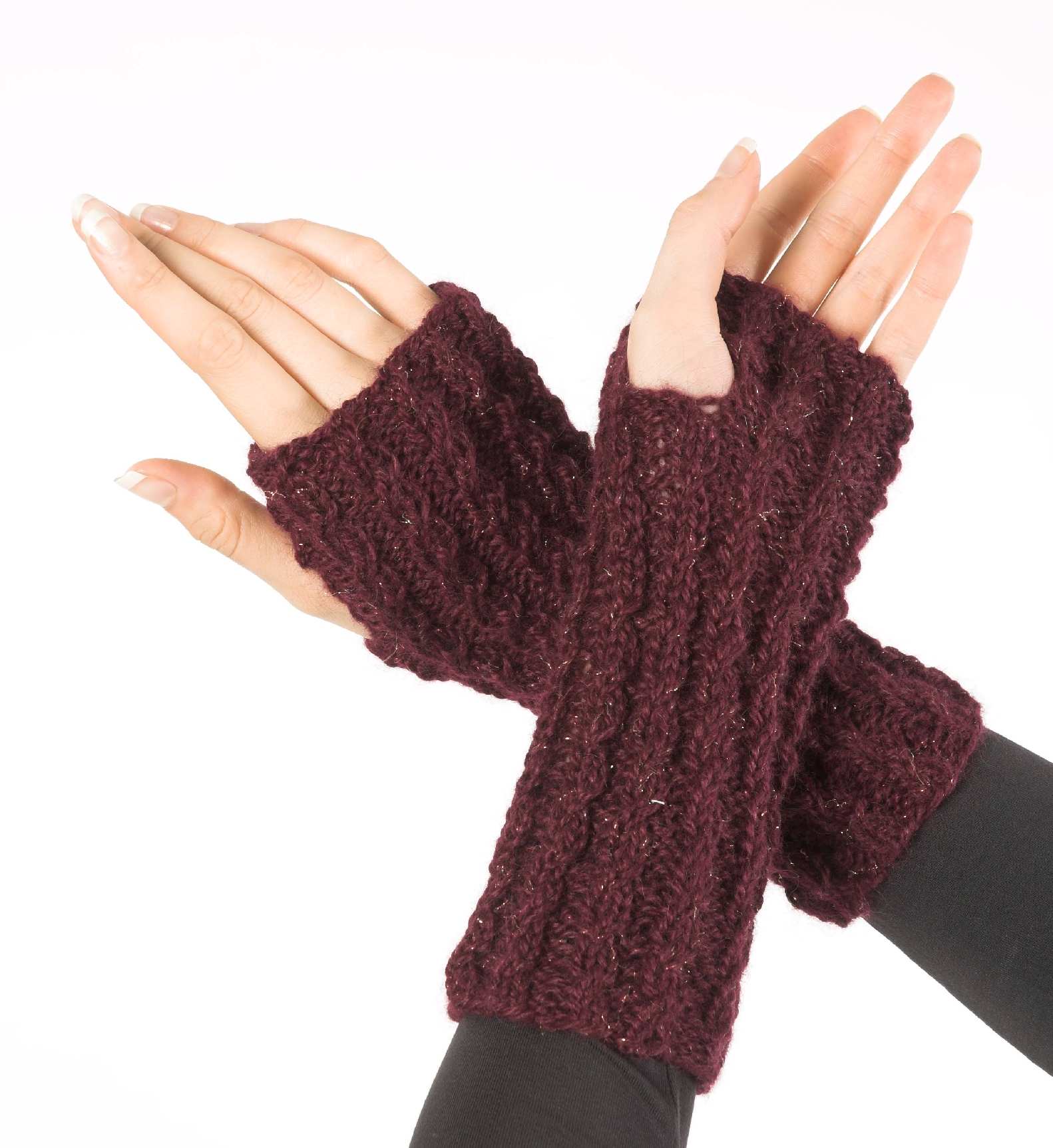 Fingerless Gloves Pattern F181
