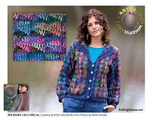 Artful Color Mindful Knits Peaks and Waves Sweater Kit - Size Small