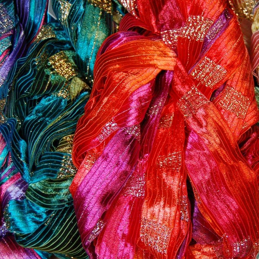 Prism Galaxy Ribbon Yarn