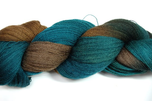 Prism Lace Wool Colorway Woodlands