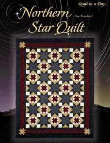 Northern Star Quilt in a Day Pattern Book