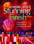 Simple Start Stunning Finish by Valori Wells