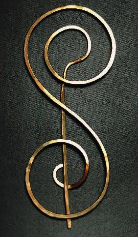 Roadrunner Designs - Double Spiral - 3.75 inch