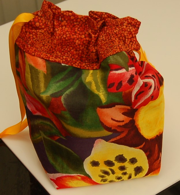 Cheeky Sock Bag - 166 Tropical Flowers