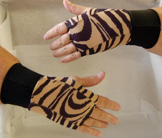 Thera-Glove Designer Beige Tiger - Small